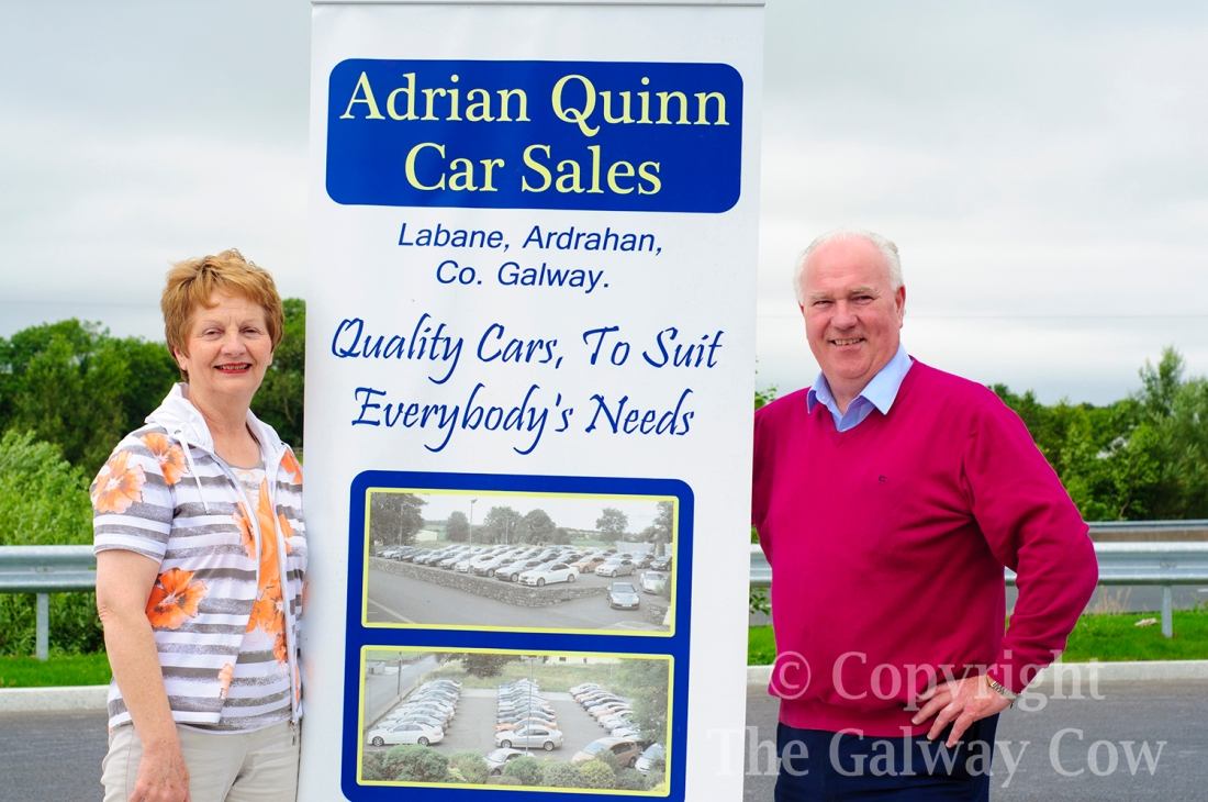 Adrian Quinn and Wife Car Sales Galway