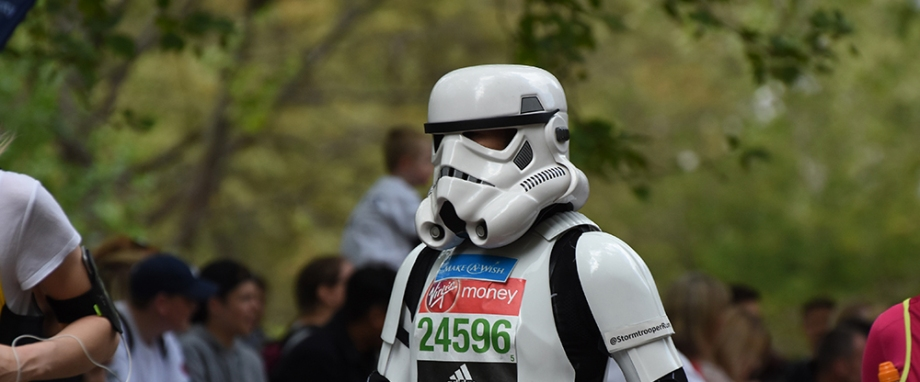 London Marathon 2017 Storm Trooper
