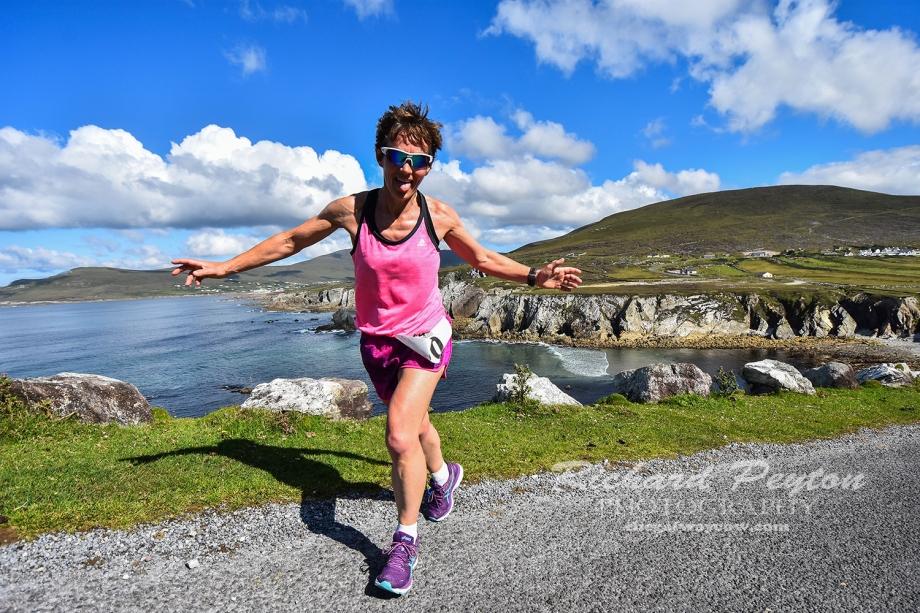 Liz Leonard - Achill Most Scenic Marathon Ireland