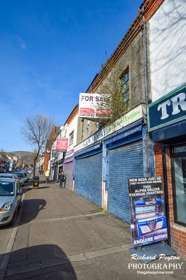 Abandoned Shops Belfast