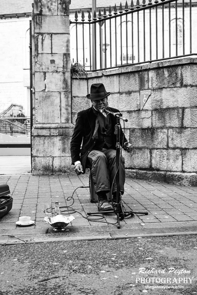 Black Street Performer, Cork. Bam Bam Artiste